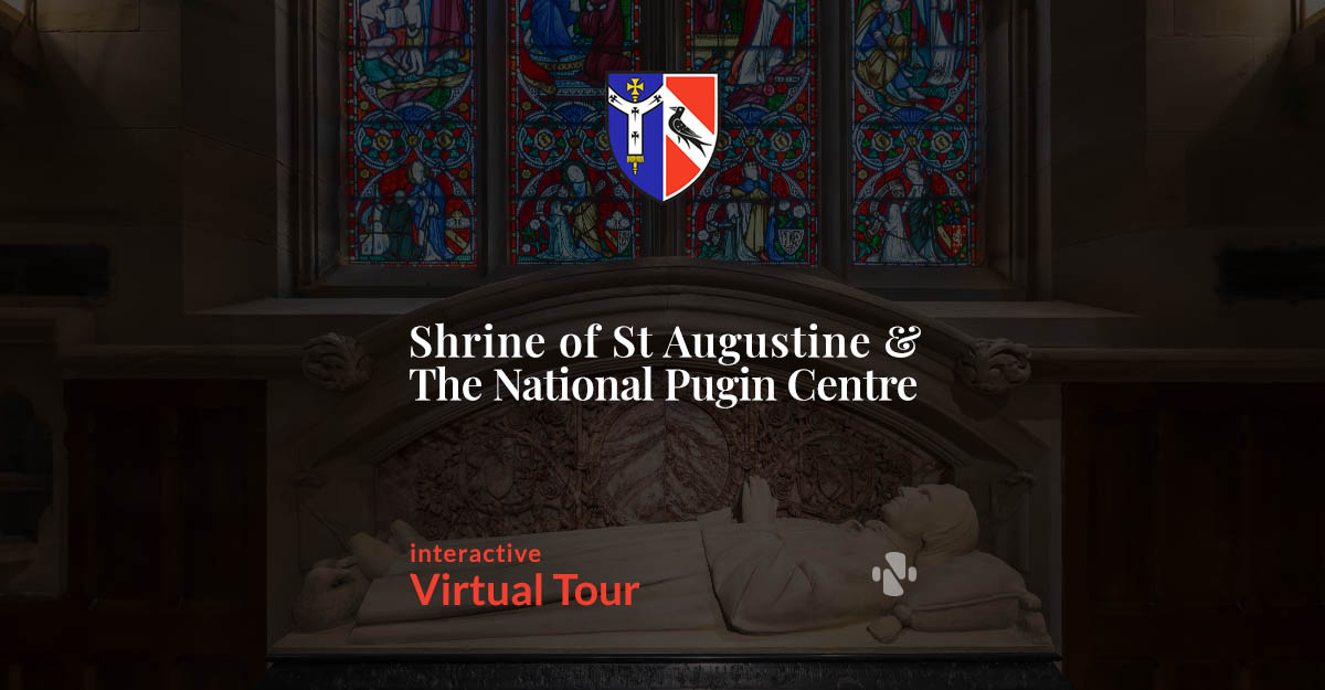 Self-guided Virtual Tour of Pugin's Church, St. Augustines, Ramsgate